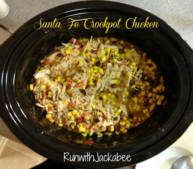 Crockpot Chicken Santa Fe Recipe — Dishmaps