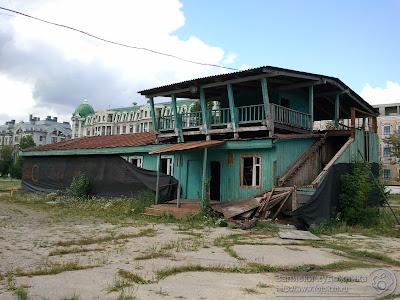 Казанский парк Черное озеро, пункт проката спортинвентаря
