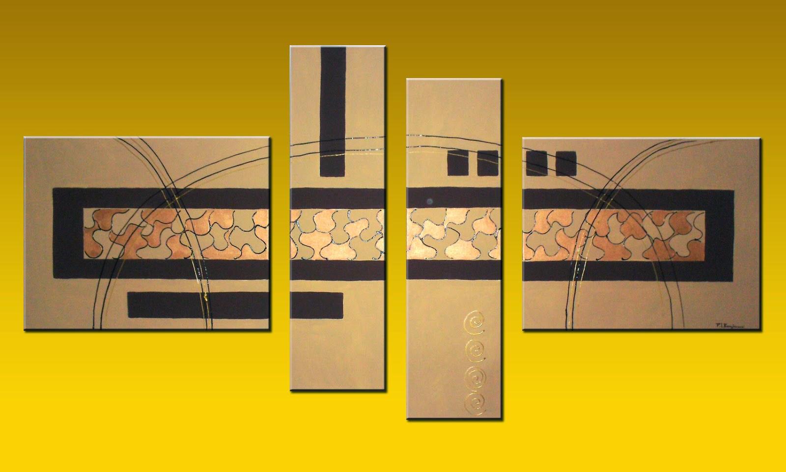 Cuadros abstractos y florales mirtatay cuadros abstractos for Imagenes de cuadros abstractos texturados