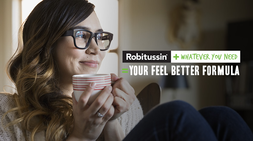 Robitussin Feel Better Formula