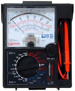 multimeter analog sanwa