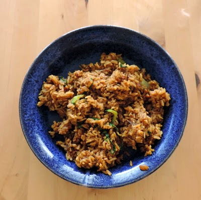 Opa made Nasi Goreng (Indonesian Fried Rice)