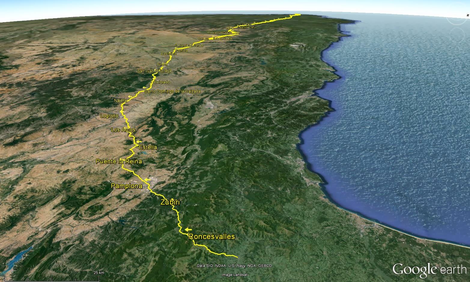 The gluepot gazette el camino de santiago registration - St jean pied de port to santiago distance ...