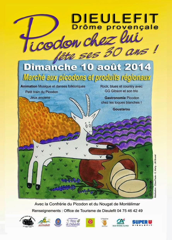 Picodon chez lui dieulefit f te du picodon le dimanche 10 ao t 2014 dieulefit - Office tourisme dieulefit ...