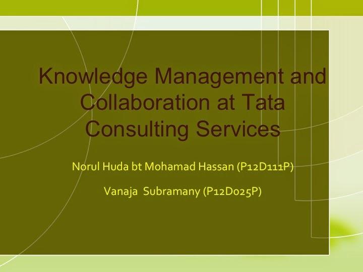 starbucks knowledge management