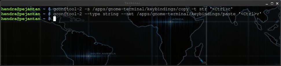 Mengaktifkan Copi Paste di Terminal Ubuntu