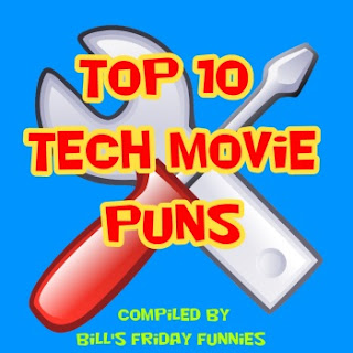 Top 10 Tech Movie Puns