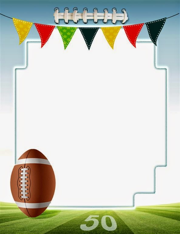 american football frame