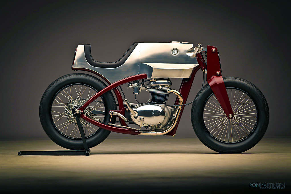 speed shop design's 1965 bsa | beezerker