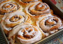 These cinnamon rolls are . . .