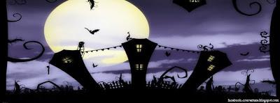 image couverture facebook pour Halloween