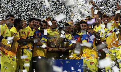 Chennai Super Kings Won IPL 4 Final