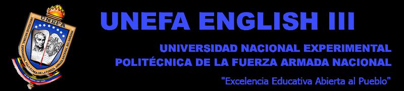 UNEFA ENGLISH III