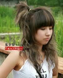 Model Rambut Wanita Sebahu Ala Korea 27