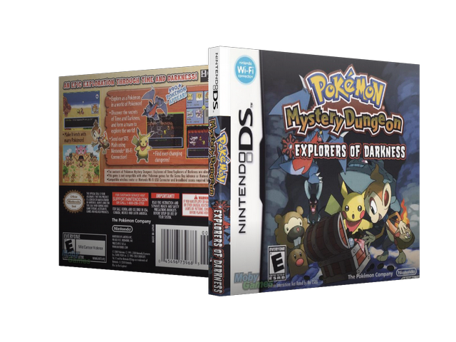 Capa Pokemon Mystery Dungeon Explorers Of Darkness Nintendo DS