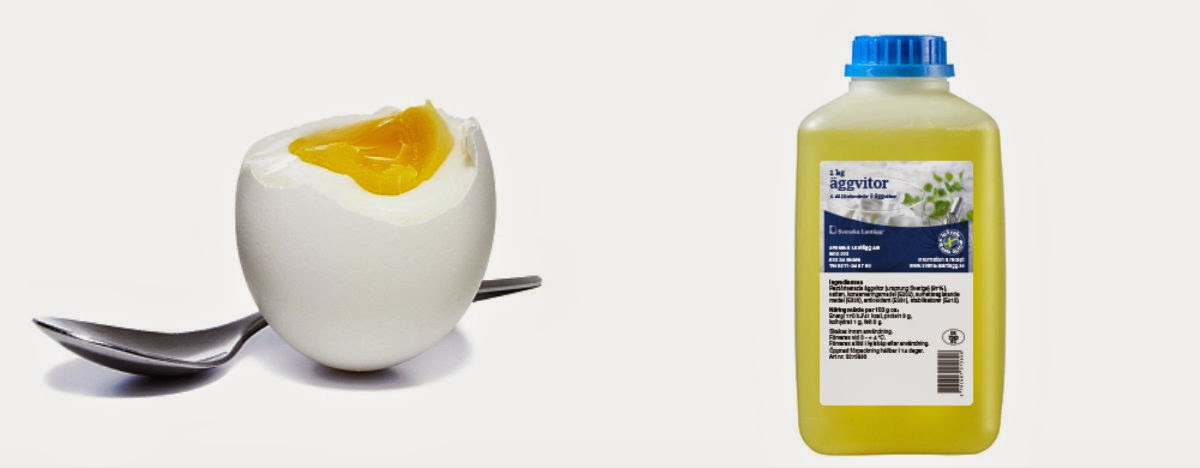 flytande äggvita ica