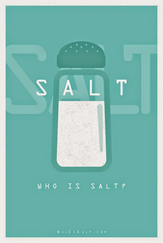 Minimalist Movie Posters Salt