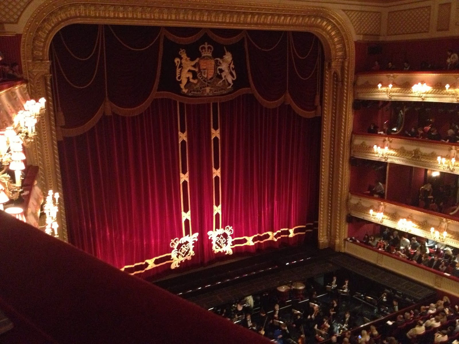 Royal opera house dinner ideas