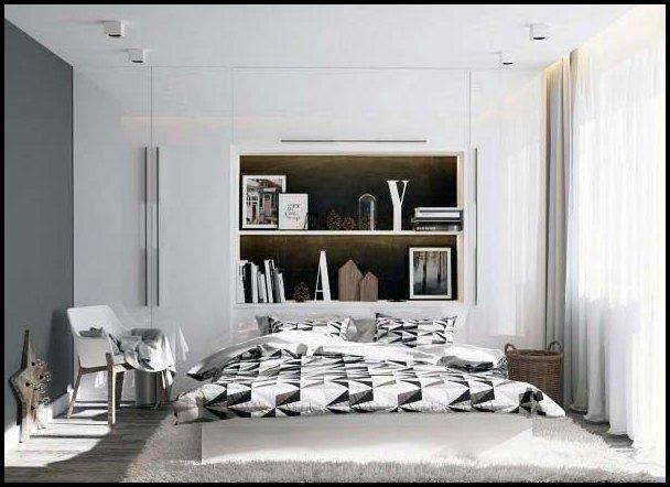 -hvitt og tre soverom, inspirasjon soverom, inspirasjon til soverom ...