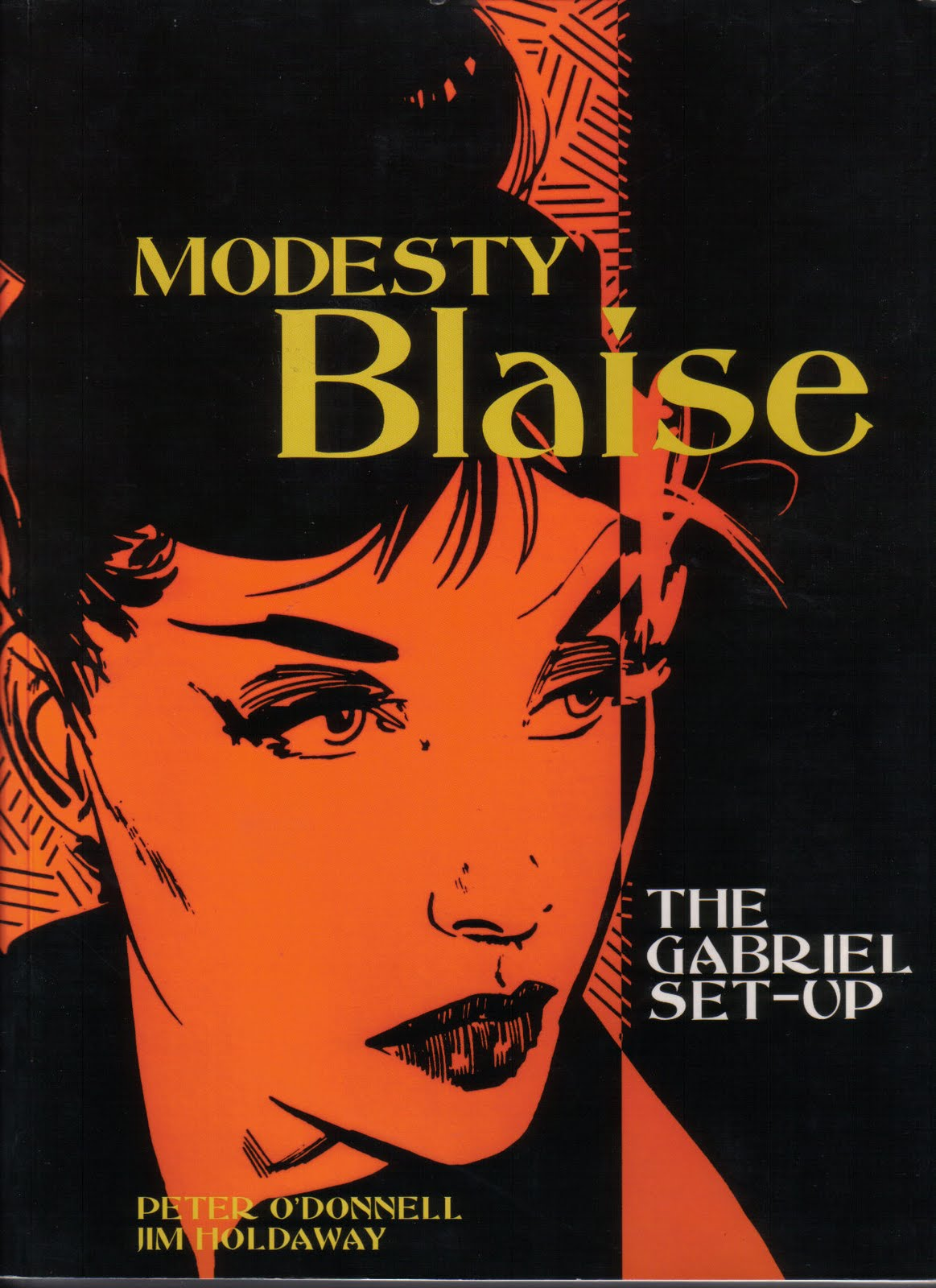 Modesty+Blaise+%25281%2529 Stepdaughter Escort, Collected Stories, Volume 2