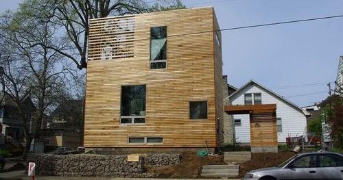 Arquitectura de casas moderna casa de madera c bica y for Planos de casas norteamericanas