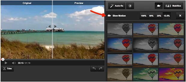 YouTube adds slow mo feature to its editing tools
