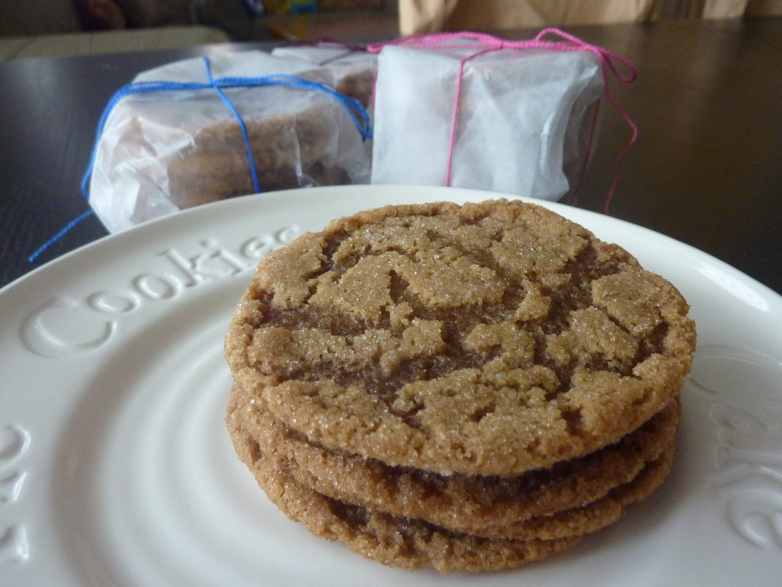 The Open Fridge: Chewy Brown Sugar Cookies
