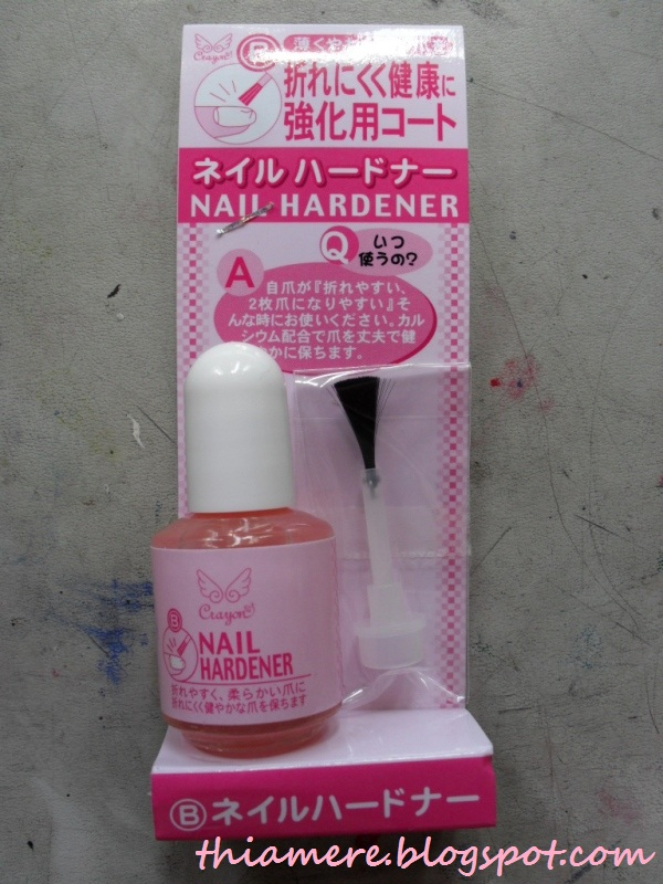 on beauty stuff and what else\'s....~: Crayon Nail Hardener