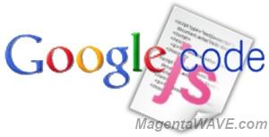 Логотип Google code и иконка javascript файла