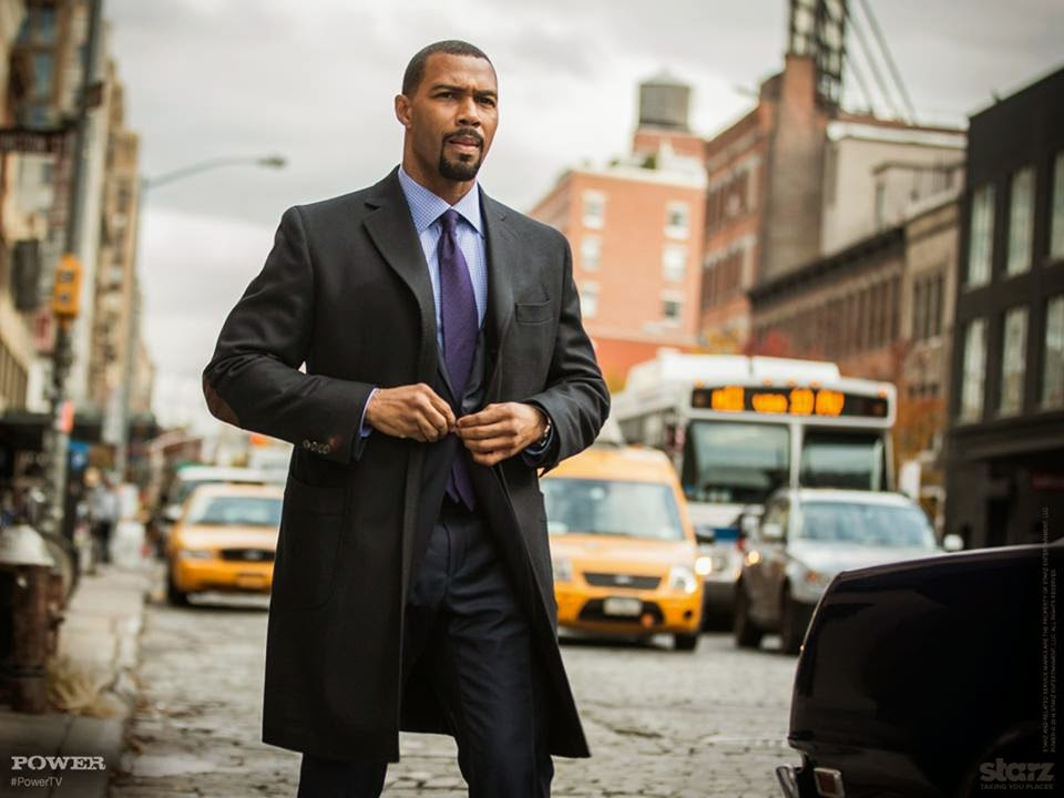 Omari Hardwick Power Suit Hardwick as James St  Patrick