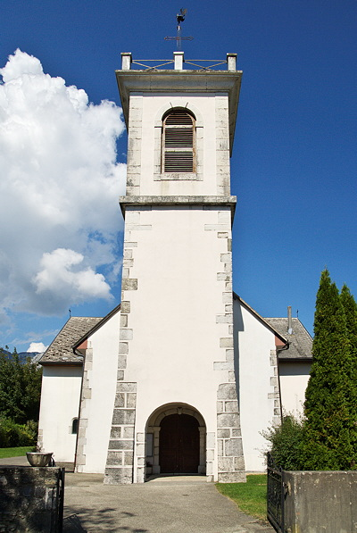 Image of Léaz church