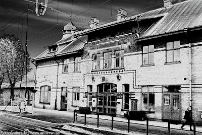 uddevalla C, central, station, järnvägsstation, bohuslän, sverige, foto anders n