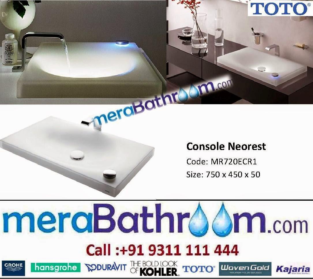 Grohe Showroom: Toto Neorest Wash Basin- MR720ECR1