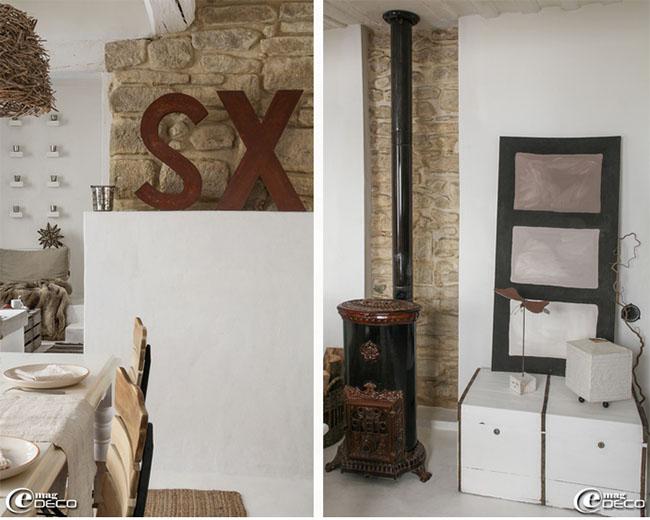 Una casa vintage e creativa home shabby home arredamento interior craft - Arredamento casa vintage ...