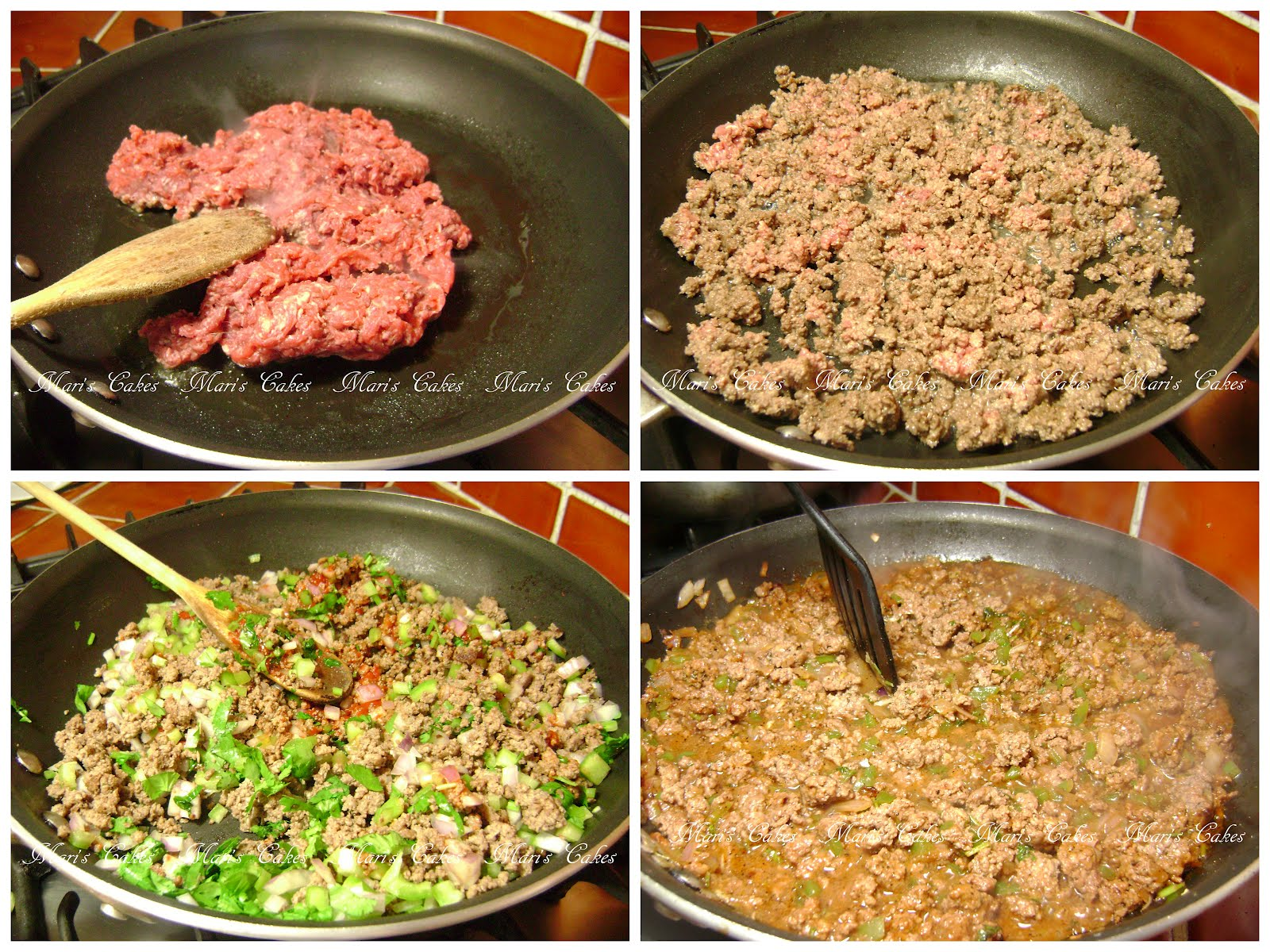 Ground beef picadillo de res mari 39 s cakes english - Que cocinar con carne picada ...