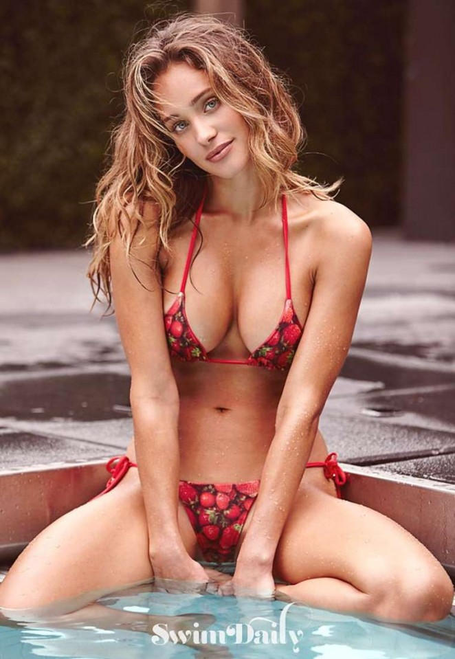 Hannah Davis – SI Swim Photoshoot (July 2015)
