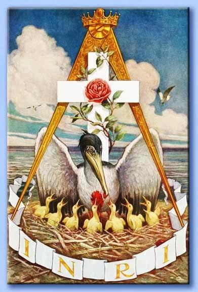 Il Sacrificio del Pellicano che con il suo sangue nutre e risuscita i suoi piccoli
