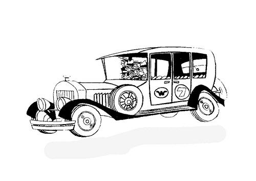 LAMINAS PARA COLOREAR - COLORING PAGES: Los Autos locos ...
