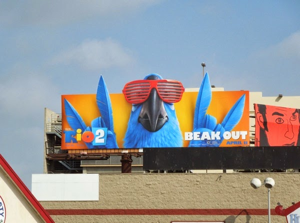 Rio 2 Beak Out special extension billboard