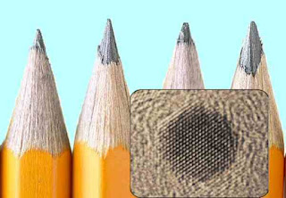 Nanodots from pencil leads