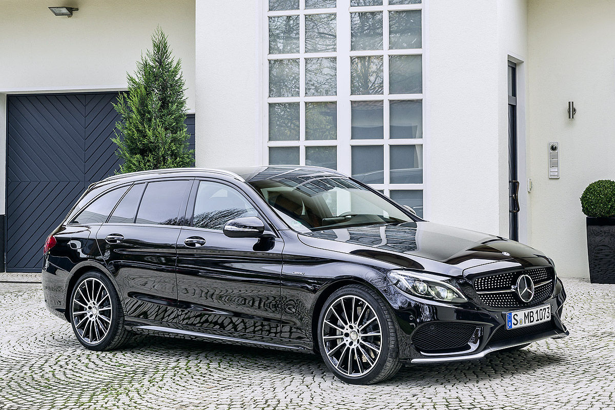 new mercedes c450 amg sport slots under c63 amg with 362hp. Black Bedroom Furniture Sets. Home Design Ideas