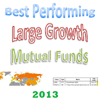 Top Performing Large Growth Funds 2013