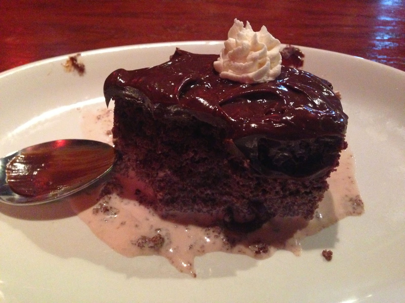 ... Not: I is for Inedible, or How To Ruin A Perfectly Good Chocolate Cake