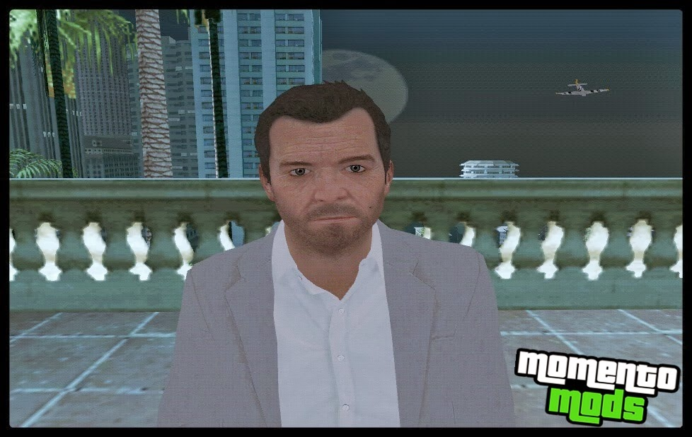 GTA SA - Skin Do Michael Convertido Do GTA 5