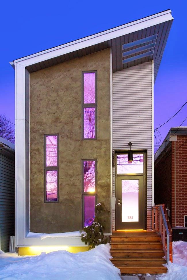 Desain Rumah kecil dengan Interior Industri / Modern