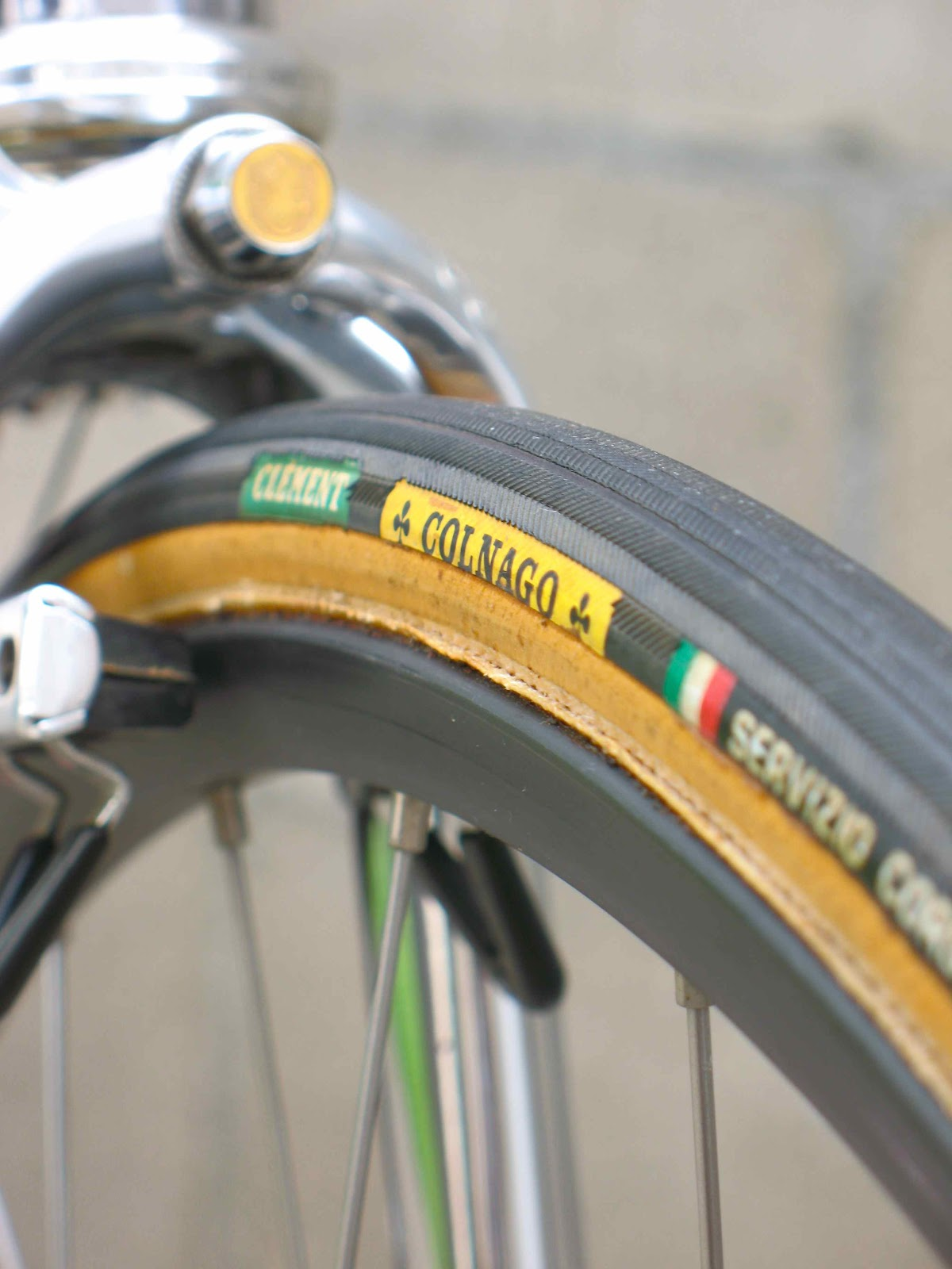 Cambiago Italy  city photos gallery : campagnolo delta brakes: Thirty years ago in Cambiago, Italy.