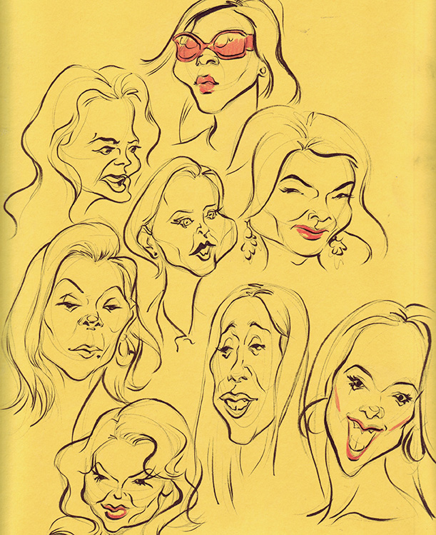 how to draw a goofy face