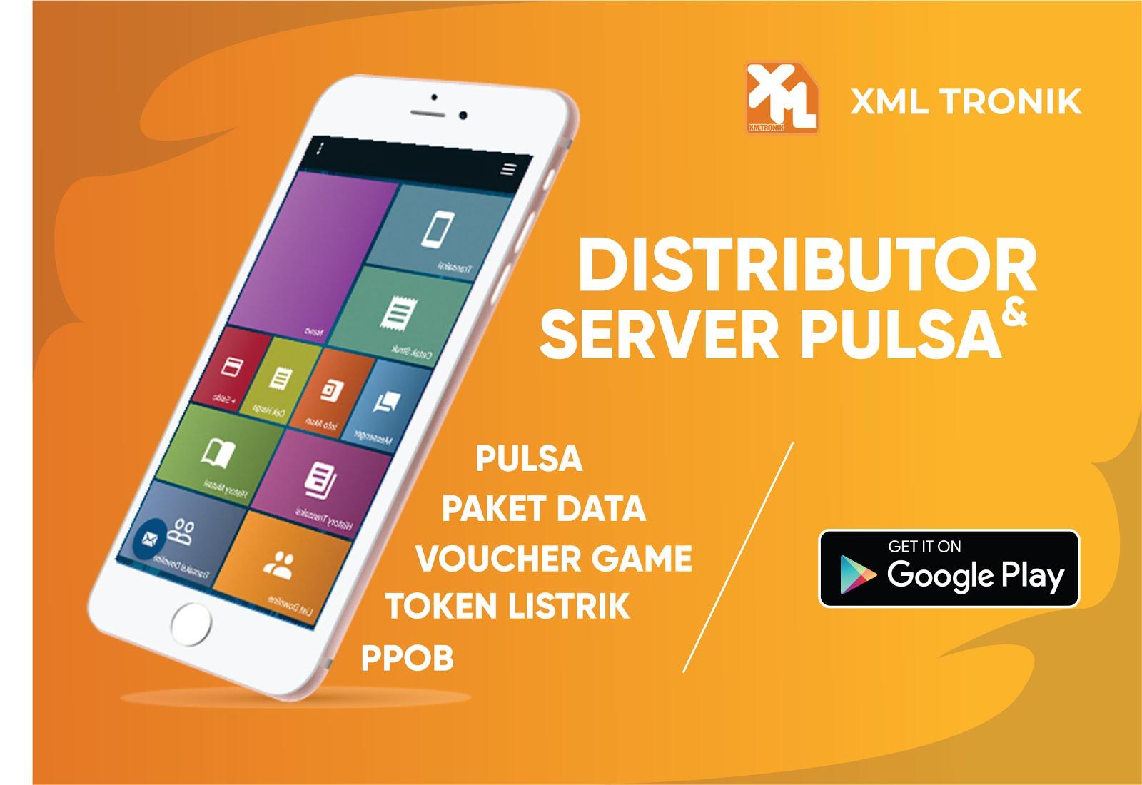 Server Pulsa XML Tronik