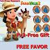 Farmville 2 Free Favor  ( FREE GİFT ) ( 17.01.2016 )