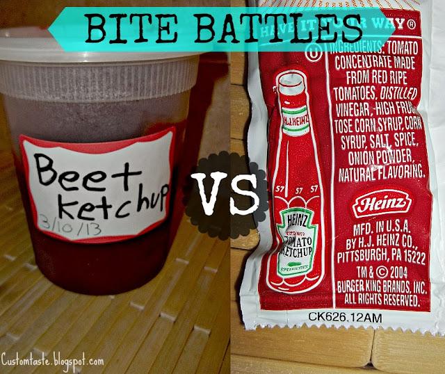 Bite Battles: Beet Ketchup (Kid-Approved) by Custom Taste